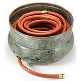 Sonoma Hose Pot in Blue Verde Brass 448B