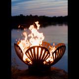 Fire Pit Art Barefoot Beach Wood Burning Fire Pit