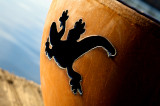Fire Pit Art Kokopelli Wood Burning Fire Pit
