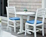 Seaside Casual Charleston Side Chair, Bar Chair Balcony Chair Seat Cushion
