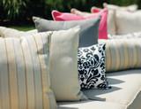 """Seaside Casual 11"""" x 17"""" Lumbar Pillow with Welt"""