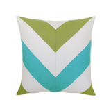 Elaine Smith Poolside Chevron toss pillow