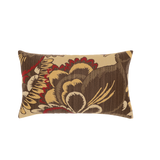 Elaine Smith Golden Floral Lumbar pillow
