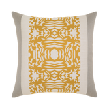 Elaine Smith Metallic Block toss pillow