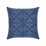 Elaine Smith Tile Midnight toss pillow