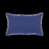 Elaine Smith Tile Midnight Lumbar pillow, back