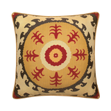 Elaine Smith Suzani Sun toss pillow