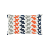 Elaine Smith Oceana Marine Lumbar pillow