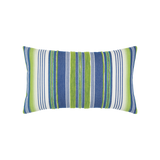 Elaine Smith Deep Sea Stripe Lumbar pillow
