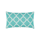 Elaine Smith Aruba Gale Lumbar pillow