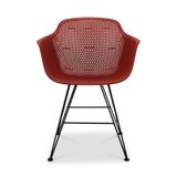 CO9 Design Madi Arm Chair, Red- Set of 2