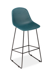 CO9 Design Madi Bar Stool, Lagoon- Set of 2