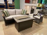 Culebra Sofa and Rocker Set
