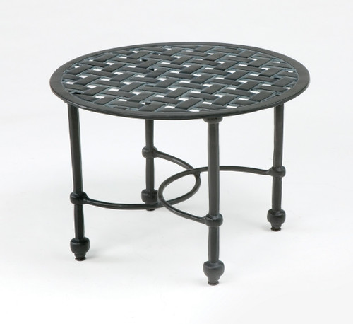Three Coins Crossweave Cocktail Table