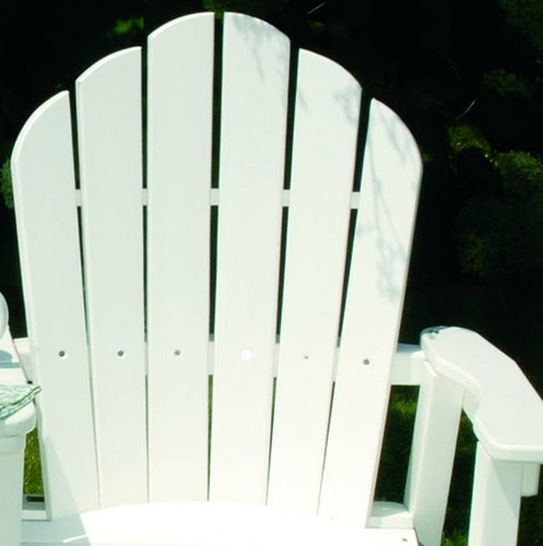 Seaside Casual Classic Adirondack Dining Chair - EnviroWood