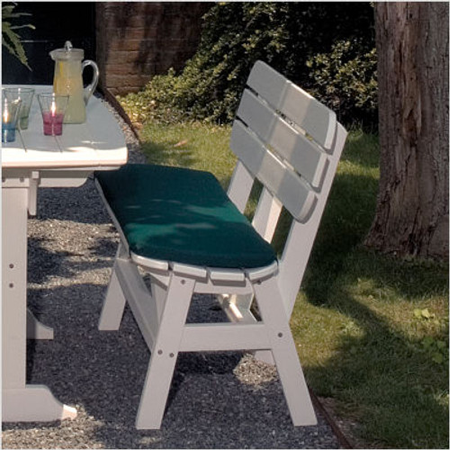 Seaside Casual Portsmouth 5' Dining Bench Cushion