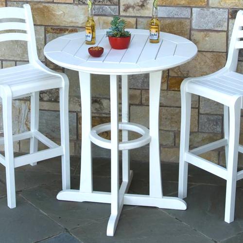 """Seaside Casual Westport 30"""" Bar Table - EnviroWood"""
