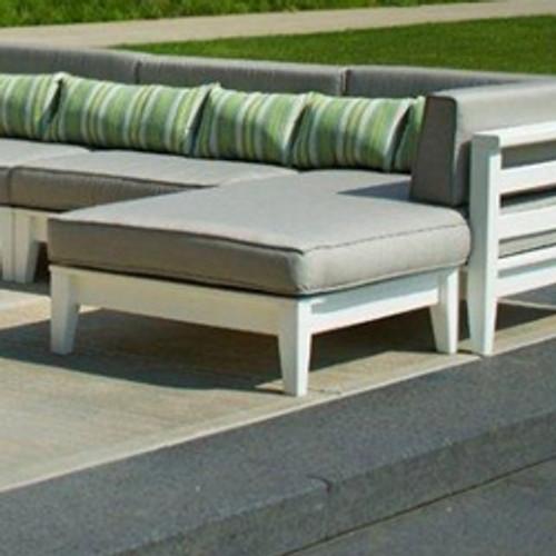 Seaside Casual Cambridge Sectional Ottoman & Cushion