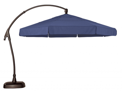 Treasure Garden 11' Octagon Cantilever Umbrella with Valance