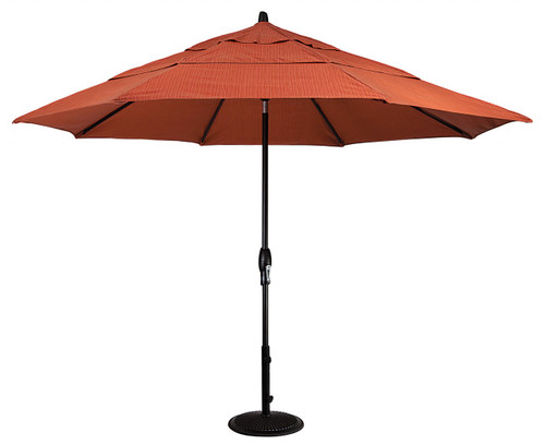 Treasure Garden Aluminum 11' Octagon Umbrella with Double Wind Vent