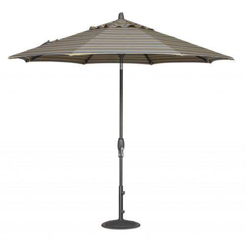 Treasure Garden Aluminum 9' Octagon Auto Tilt Umbrella