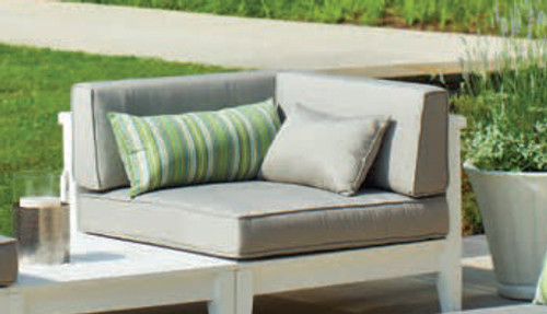Seaside Casual Cambridge Sectional Back Cushion Only