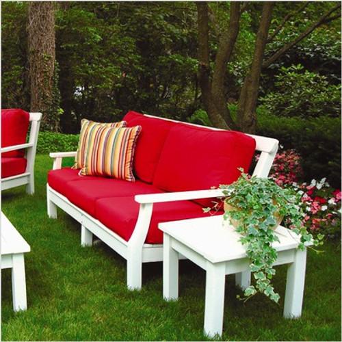 Seaside Casual Nantucket Sofa Cushions Only