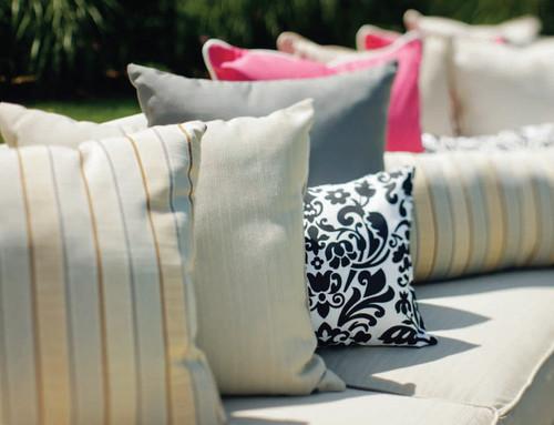 "Seaside Casual 11"" x 26"" Long Lumbar Pillow"