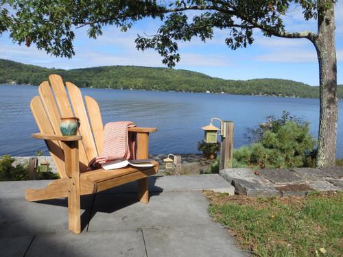 CO9 Design Teak Adirondack Chair