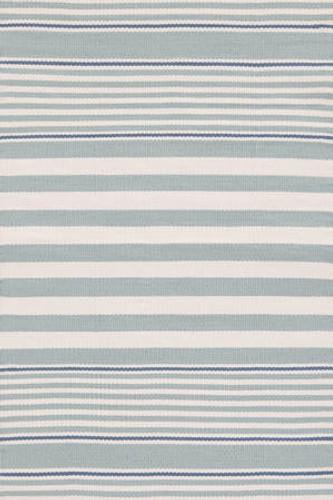 Dash & Albert Beckham Stripe Light Blue Indoor/Outdoor Rug