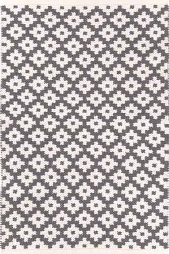 Dash & Albert Samode Graphite/Ivory Indoor/Outdoor Rug