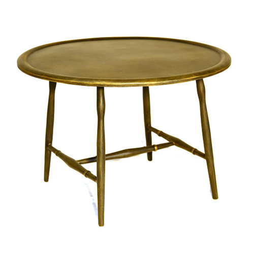 Three Coins Cast Windsor Cocktail Table