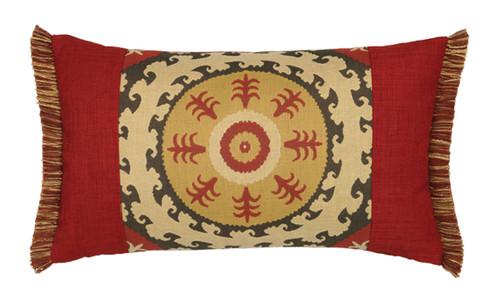 Elaine Smith Suzani Toss Pillow