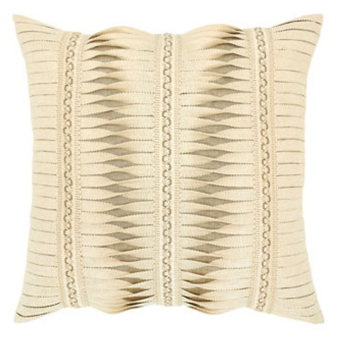 Elaine Smith Gladiator Ivory Toss Pillow