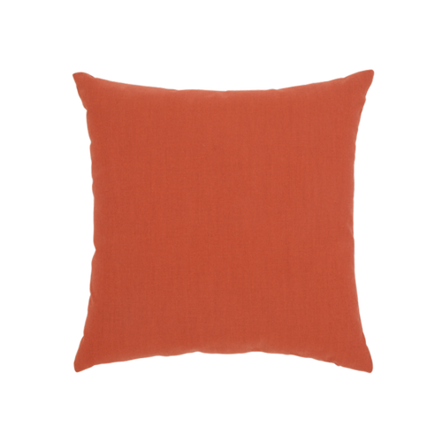Elaine Smith Coral Cruise Jewel toss pillow, back