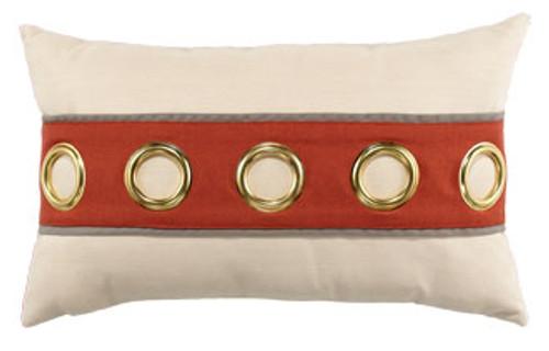 Elaine Smith Coral Cruise Horizontal Lumbar pillow