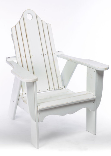 CO9 Design Brookside Adirondack Chair in White