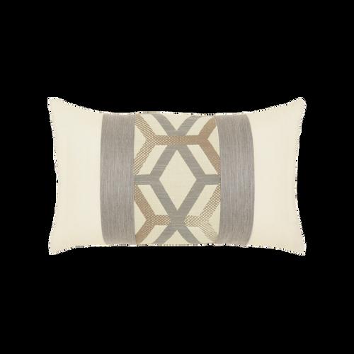 Elaine Smith Lustrous Lumbar pillow