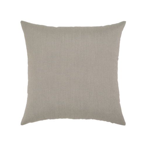 Elaine Smith Basketweave Gray toss pillow, back