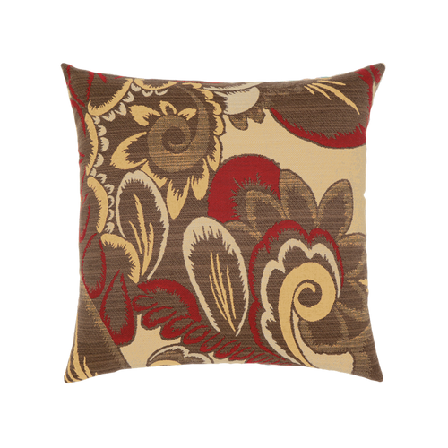 Elaine Smith Golden Floral toss pillow