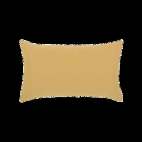 Elaine Smith Golden Floral Lumbar pillow, back