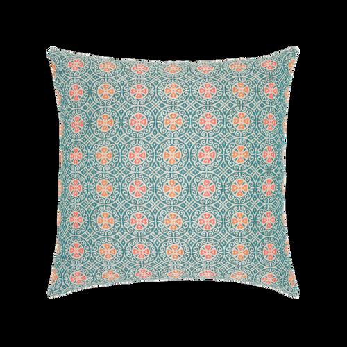 Elaine Smith Grand Turk Mosaic toss pillow