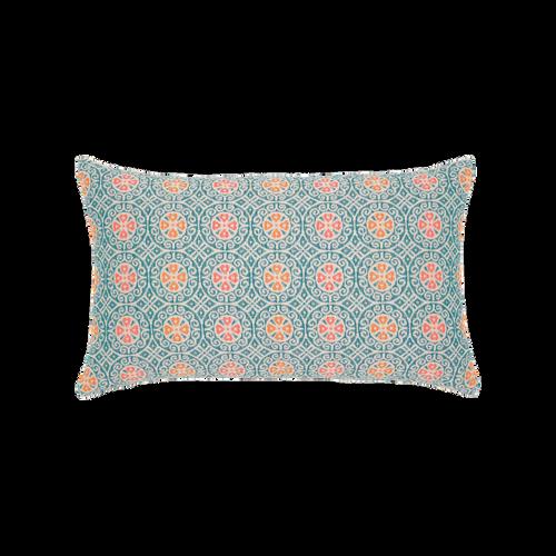 Elaine Smith Grand Turk Mosaic Lumbar pillow