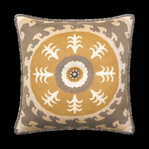 Elaine Smith Jeweled Sedona Sun toss pillow