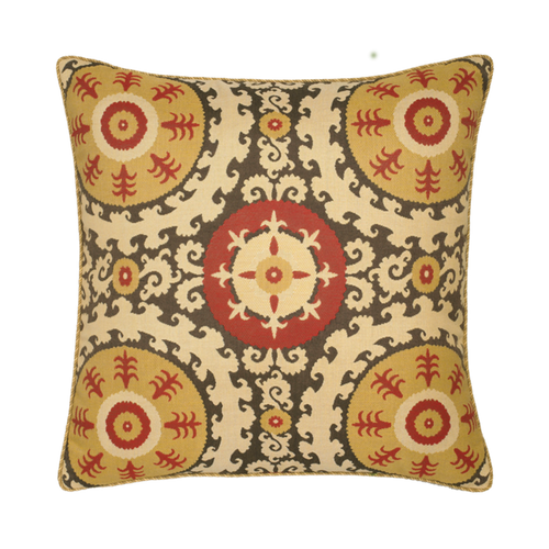 Elaine Smith Suzani toss pillow