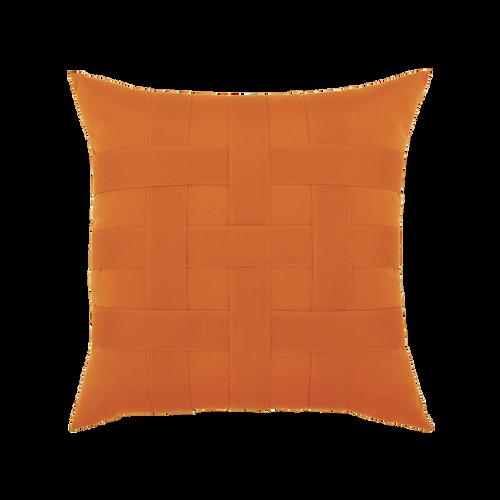 Elaine Smith Basketweave Tuscan toss pillow