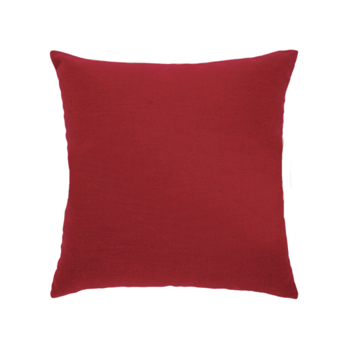 Elaine Smith Basketweave Rouge toss pillow, back