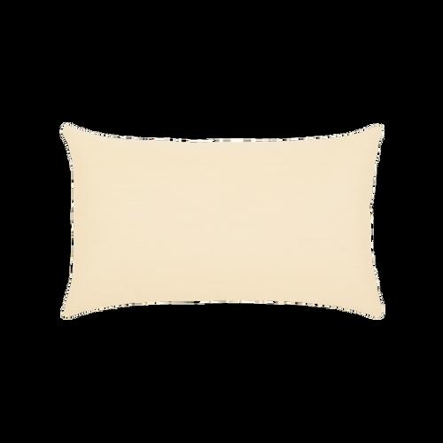 Elaine Smith Landscape Stripe Lumbar pillow, back