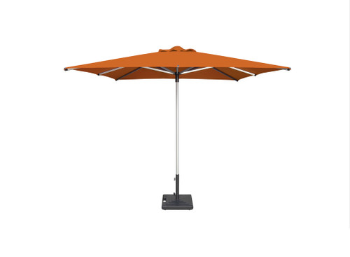 "Shademaker Libra Centerpost 6'6"" square umbrella"