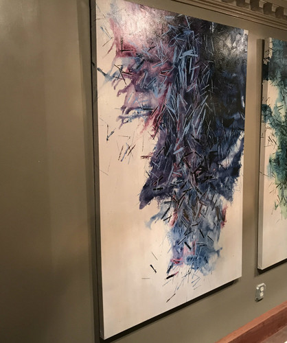 Intense Fragments II-  Artwork